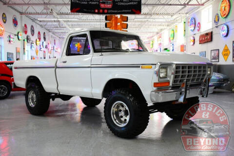 1979 Ford F-150 for sale at Classics and Beyond Auto Gallery in Wayne MI