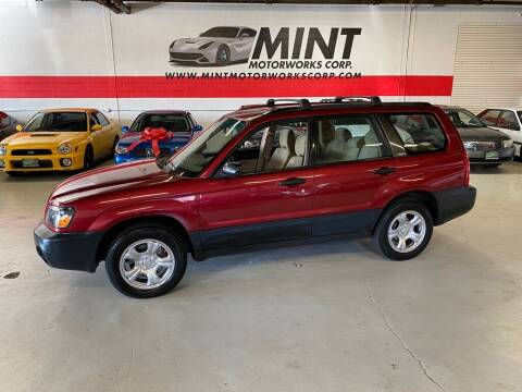 2003 Subaru Forester for sale at MINT MOTORWORKS in Addison IL