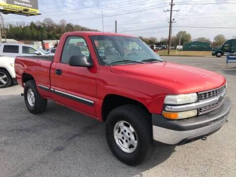 2002 Chevrolet Silverado 1500 for sale at Greenbrier Auto Sales in Greenbrier AR