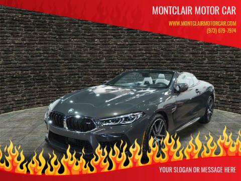 2020 BMW M8 for sale at Montclair Motor Car in Montclair NJ