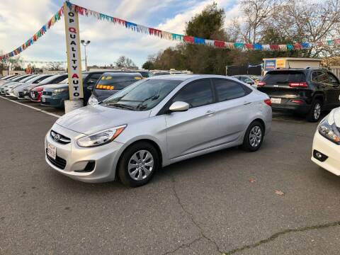 2017 Hyundai Accent for sale at TOP QUALITY AUTO in Rancho Cordova CA