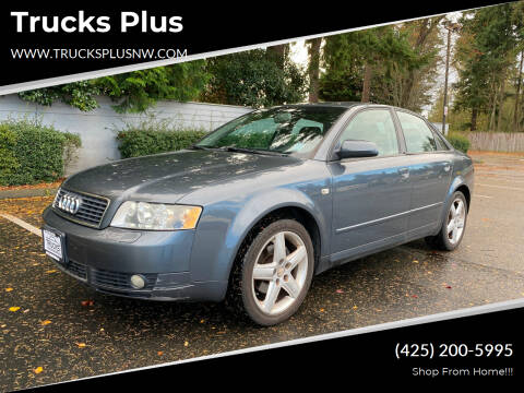 2005 Audi A4 for sale at Trucks Plus in Seattle WA