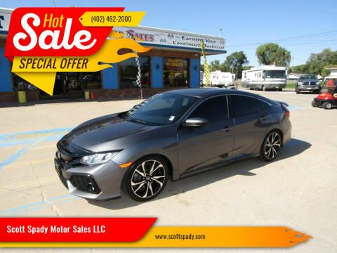 2017 Honda Civic for sale at Scott Spady Motor Sales LLC in Hastings NE