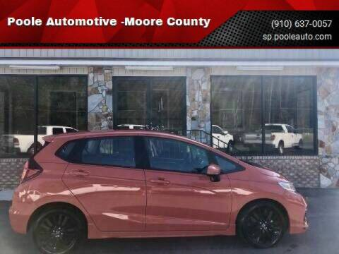 2019 Honda Fit for sale at Poole Automotive in Laurinburg NC