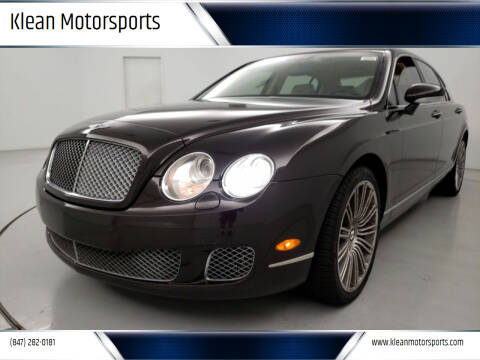 2009 Bentley Continental for sale at Klean Motorsports in Skokie IL