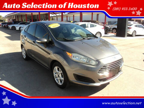 2014 Ford Fiesta for sale at Auto Selection of Houston in Houston TX