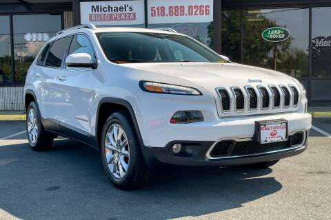 2016 Jeep Cherokee for sale at Michaels Auto Plaza in East Greenbush NY