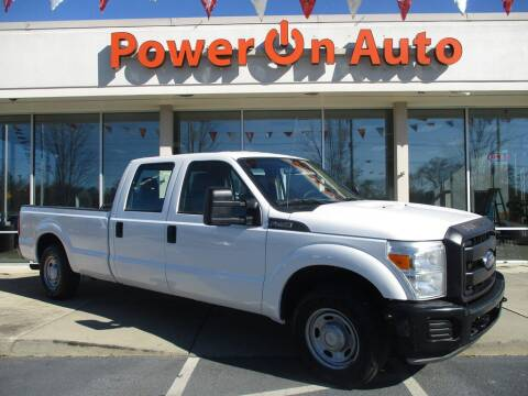 2016 Ford F-250 Super Duty for sale at Power On Auto LLC in Monroe NC