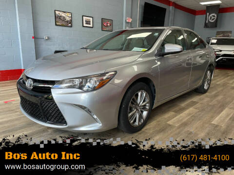 2017 Toyota Camry for sale at Bos Auto Inc in Quincy MA