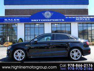 2016 Audi S3 for sale at Highline Group Motorsports in Lowell MA