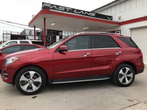 2016 Mercedes-Benz GLE for sale at FAST LANE AUTO SALES in San Antonio TX