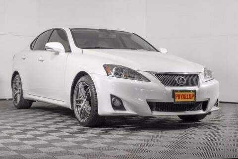 2012 Lexus IS 250 for sale at Washington Auto Credit in Puyallup WA
