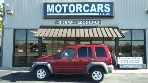 2006 Jeep Liberty for sale at MotorCars LLC in Wellford SC
