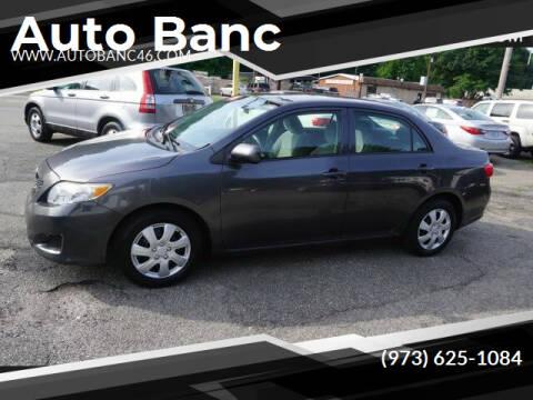 2009 Toyota Corolla for sale at Auto Banc in Rockaway NJ