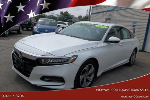 2018 Honda Accord for sale at Highway 100 & Loomis Road Sales in Franklin WI