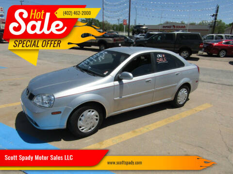 2004 Suzuki Forenza for sale at Scott Spady Motor Sales LLC in Hastings NE