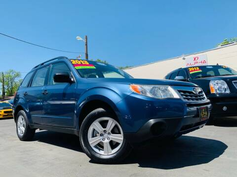 2013 Subaru Forester for sale at Alpha AutoSports in Roseville CA