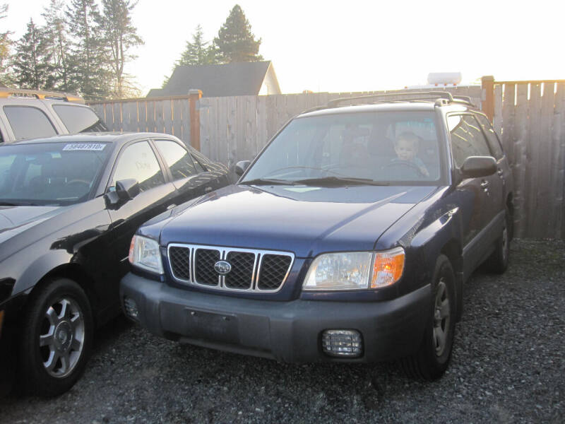 2001 Subaru Forester for sale at All About Cars in Marysville-Washington State WA