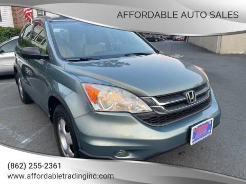 2010 Honda CR-V for sale at Affordable Auto Sales in Irvington NJ