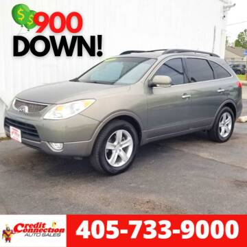 2008 Hyundai Veracruz for sale at Credit Connection Auto Sales in Midwest City OK
