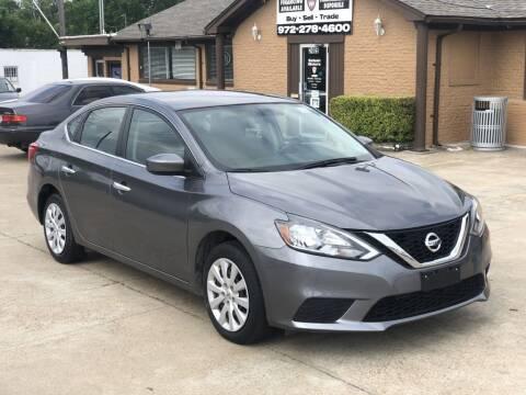 2017 Nissan Sentra for sale at Safeen Motors in Garland TX