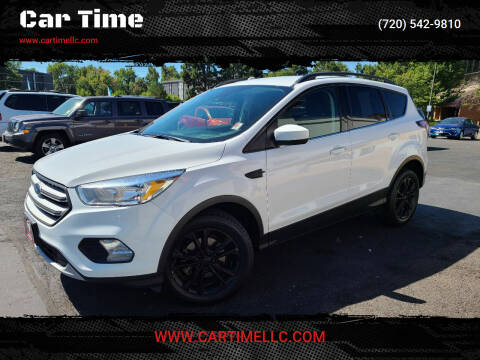 2018 Ford Escape for sale at Car Time in Denver CO