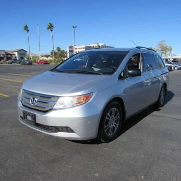 2013 Honda Odyssey for sale at Charlie Cheap Car in Las Vegas NV