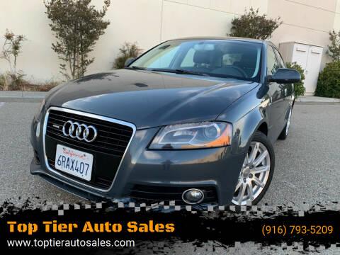 2011 Audi A3 for sale at Top Tier Auto Sales in Sacramento CA