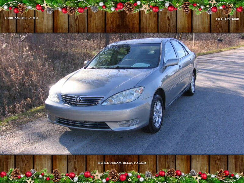 2005 Toyota Camry for sale at Durham Hill Auto in Muskego WI