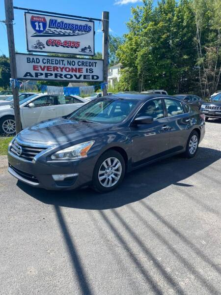 2013 Nissan Altima for sale at ROUTE 11 MOTOR SPORTS in Central Square NY