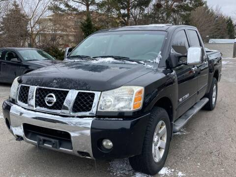 2005 Nissan Titan for sale at Davidson Auto Deals in Syracuse IN