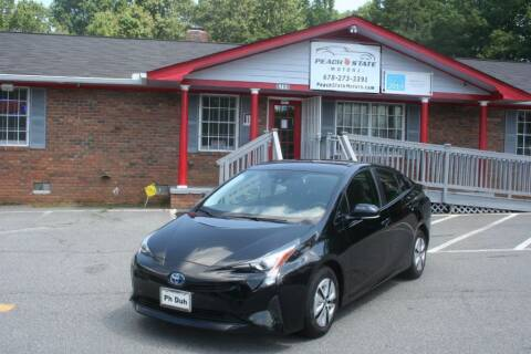 2017 Toyota Prius for sale at Peach State Motors Inc in Acworth GA
