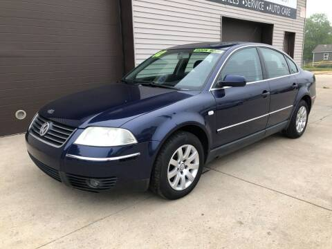 2002 Volkswagen Passat for sale at Auto Import Specialist LLC in South Bend IN