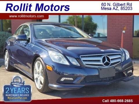 2011 Mercedes-Benz E-Class for sale at Rollit Motors in Mesa AZ