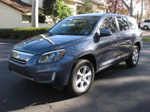 2014 Toyota RAV4 EV for sale at E MOTORCARS in Fullerton CA