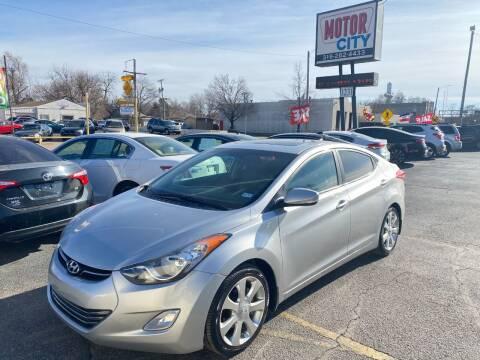 2012 Hyundai Elantra for sale at Motor City Sales in Wichita KS