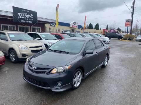 2013 Toyota Corolla for sale at Tacoma Autos LLC in Tacoma WA