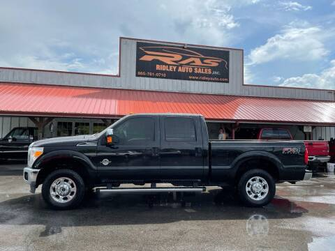 2014 Ford F-250 Super Duty for sale at Ridley Auto Sales, Inc. in White Pine TN