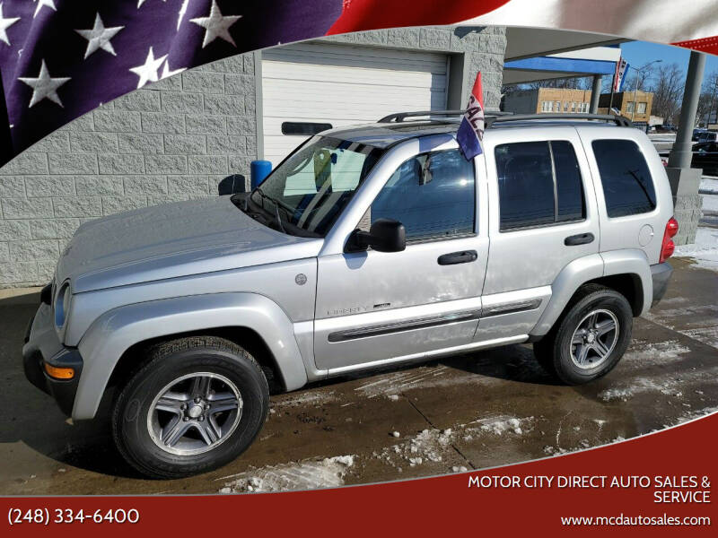 2004 Jeep Liberty for sale at Motor City Direct Auto Sales & Service in Pontiac MI