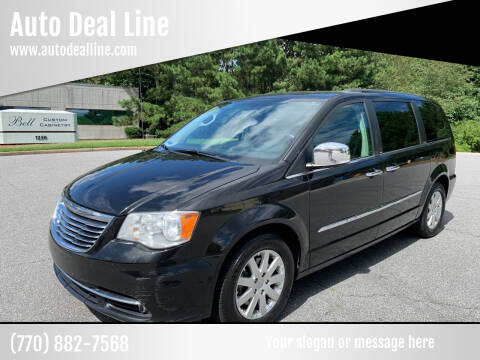 2012 Chrysler Town and Country for sale at Auto Deal Line in Alpharetta GA