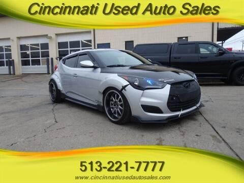 2016 Hyundai Veloster for sale at Cincinnati Used Auto Sales in Cincinnati OH