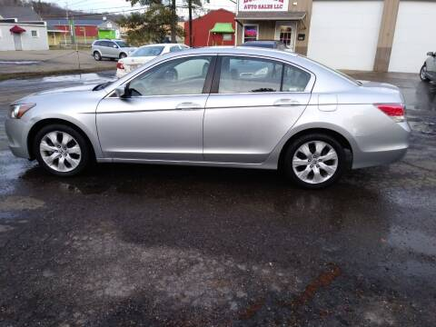 2008 Honda Accord for sale at Jim's Hometown Auto Sales LLC in Byesville OH