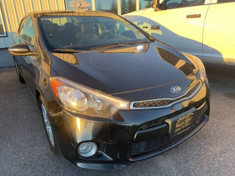 2016 Kia Forte Koup for sale at BELOW BOOK AUTO SALES in Idaho Falls ID