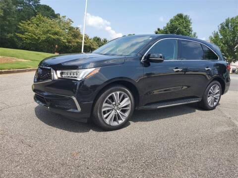 2018 Acura MDX for sale at CU Carfinders in Norcross GA