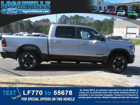 2020 RAM Ram Pickup 1500 for sale at Loganville Quick Lane and Tire Center in Loganville GA