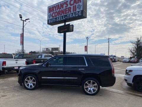 2015 Cadillac Escalade for sale at Bryans Car Corner in Chickasha OK