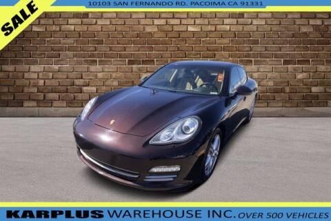 2013 Porsche Panamera for sale at Karplus Warehouse in Pacoima CA