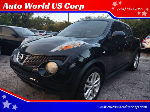 2013 Nissan JUKE for sale at Auto World US Corp in Plantation FL
