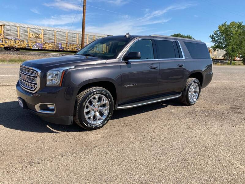 2017 GMC Yukon XL for sale at American Garage in Chinook MT