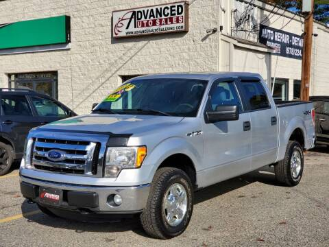 2012 Ford F-150 for sale at Advanced Auto Sales in Tewksbury MA
